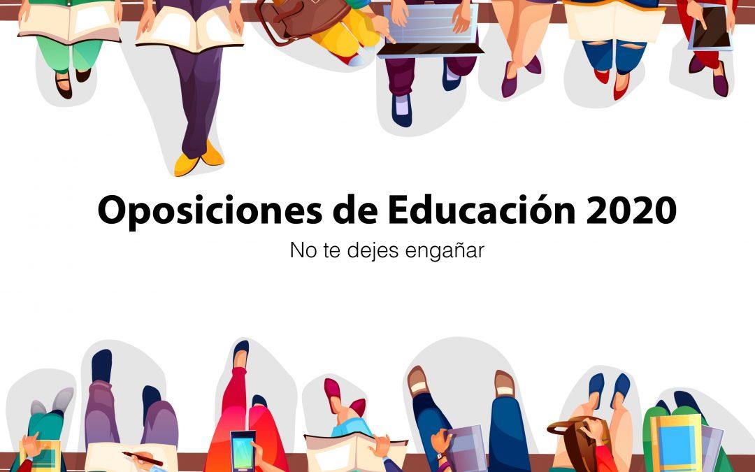 Consejos para contrastar las noticias sobre Oposiciones de Educación 2020